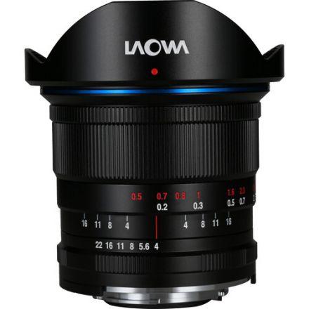 Venus Optics Laowa 14mm f/4 Zero-D Lens for Canon EF