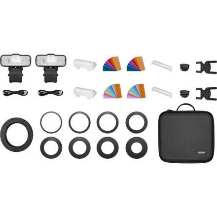Godox MF12 Macro Flash 2-Light Kit