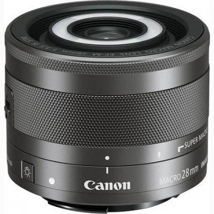 Canon EF-M 28mm f/3.5 Macro IS STM σε 12 Άτοκες Δόσεις