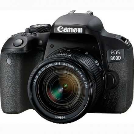 Canon EOS 800D Kit EF-S 18-55mm IS STM