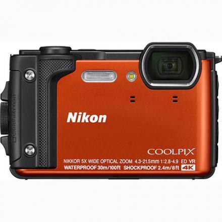 Nikon Coolpix W300 Holiday Kit (Orange)