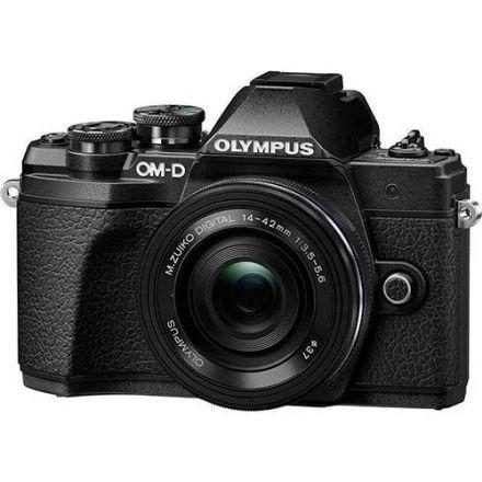 Olympus OM-D E-M10 Mark III Διπλό Kit 14-42mm EZ Και 40-150mm R (Black)
