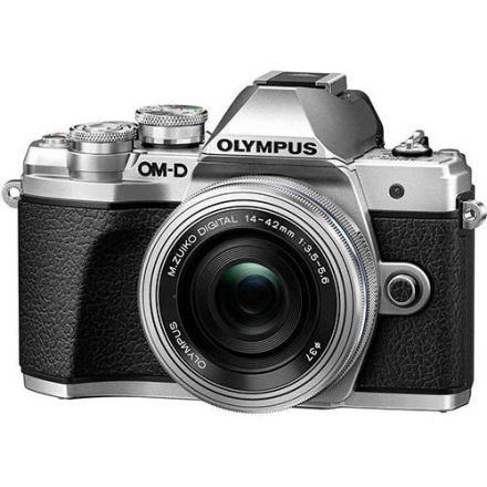 Olympus OM-D E-M10 Mark III Kit Zuiko ED 14-42mm EZ (Silver)
