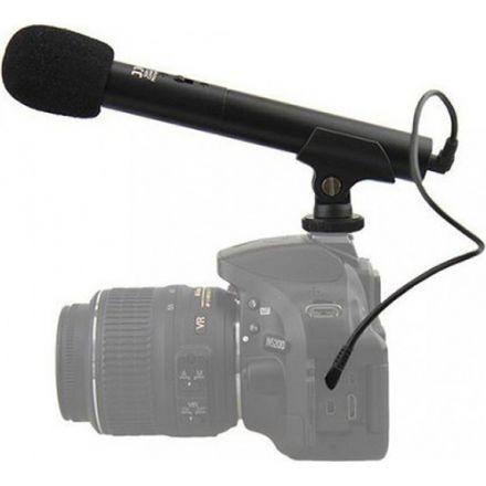 JJC SGM-185II DSLR/Video Mini Shotgun Microphone