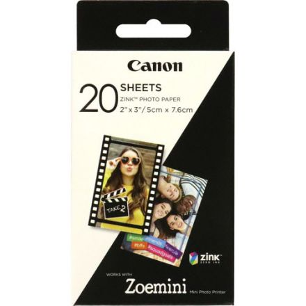 Canon Zoemini ZINK Photo Paper (20 Sheets)