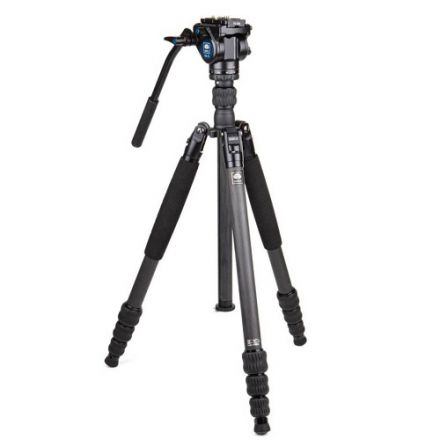 SIRUI Traveler VC - Carbon tripod / monopod with video head VA-5