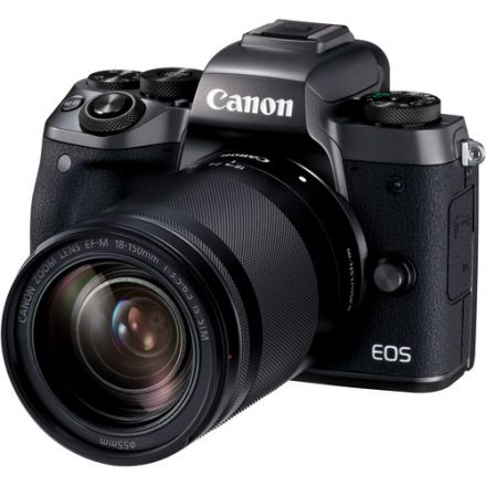 Canon EOS M50 Kit EF-M 18-150mm IS STM (Black)
