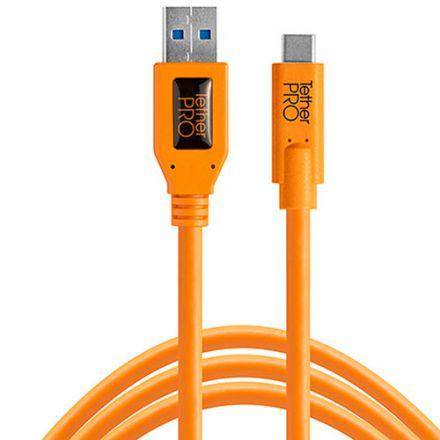 TETHER TOOLS TETHERPRO USB 3.0 TO USB-C ORANGE(4.6m)