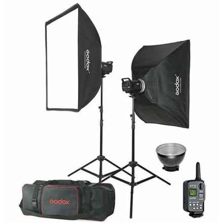 Godox MS300E-KIT - Manual Studio Flash Kit με 2x MS300 300Ws Studio Flash