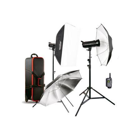 Godox SK400II - KIT - Manual Studio Flash Kit με 2x SK400II