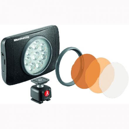 MANFROTTO LUMIMUSE 8 LED LIGHT (MLUMIEMU-BK)