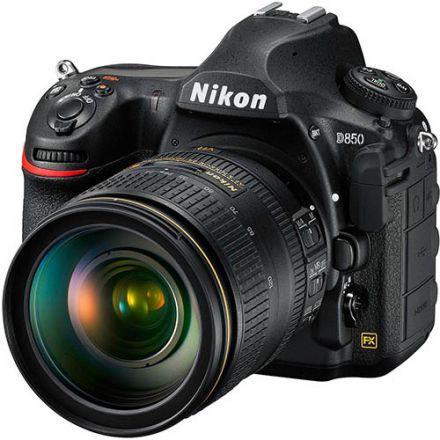 Nikon D850 Kit AF-S Nikkor 24-120mm f/4G ED VR ( Με έκπτωση 200€)