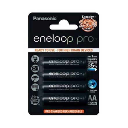 PANASONIC Eneloop 1x4 Pro Mignon AA 2500 mAh