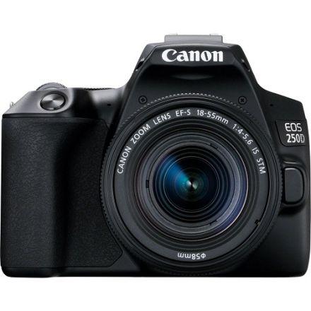 Canon EOS 250D Kit EF-S 18-55mm IS STM (Black)