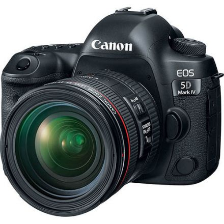 Canon EOS 5D Mark IV Kit EF 24-70mm f/4 L IS USM (Με Trade-in μέχρι και 300€ έκπτωση)