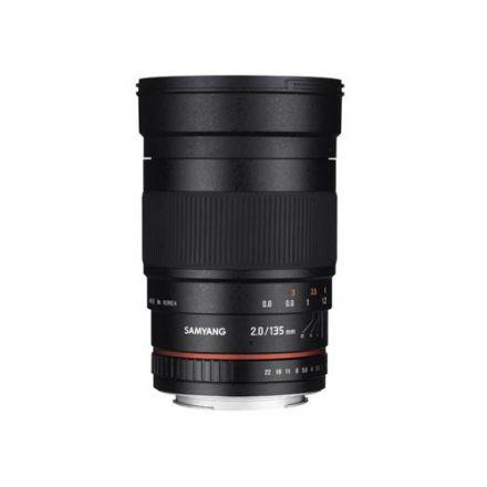 Samyang 135mm f/2.0 ED UMC Lens for Canon EF Mount