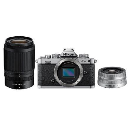 Nikon Z fc Mirrorless Digital Camera with 16-50mm f/3.5-6.3 VR Lens (Silver) & Nikon NIKKOR Z DX 50-250mm f/4.5-6.3 VR Lens (με Cashback 100€)