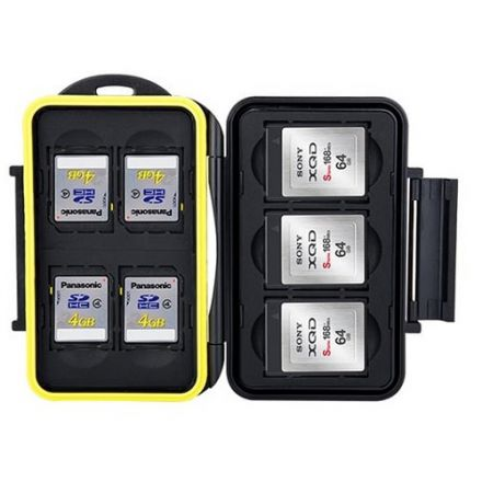 JJC MC-XQDSD7 Memory Card Case Fits For 7 SD Cards