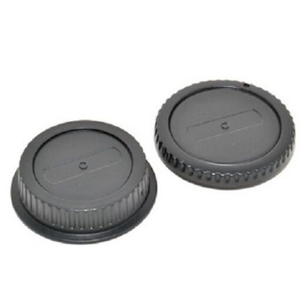 JJC L-R1 Lens and Body Cap for Canon EF Lens, Canon EOS Camera