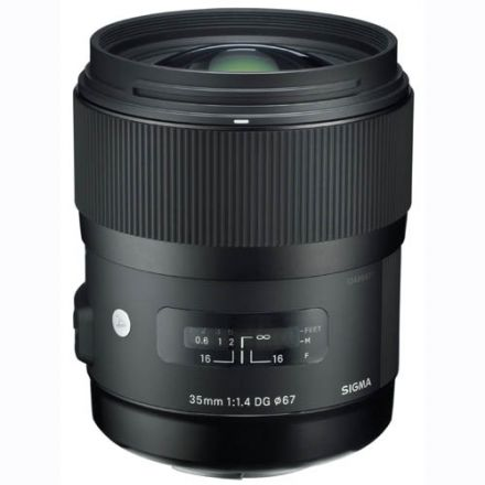 Sigma 35mm f/1.4 DG HSM Art Lens for Nikon (Used)