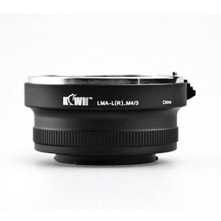 Kiwi Lens Adapter for Leica R Lens to Micro 4/3