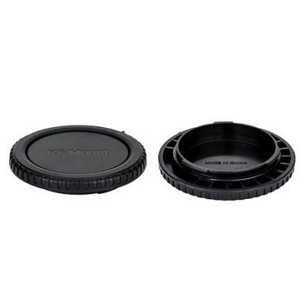 JJC L-RCRF Rear Lens Cap and Body Cap for Canon RF Mount