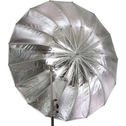Jinbei Deep Focus Umbrella, Ασημί/Μαύρη, 105cm