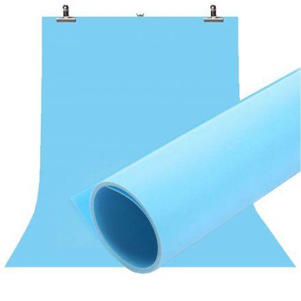 Jinbei φόντο PVC 100x200cm Μπλε με στήριγμα
