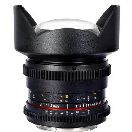 SAMYANG 14MM T3.1 VDLSR II SONY E(F1312606101)