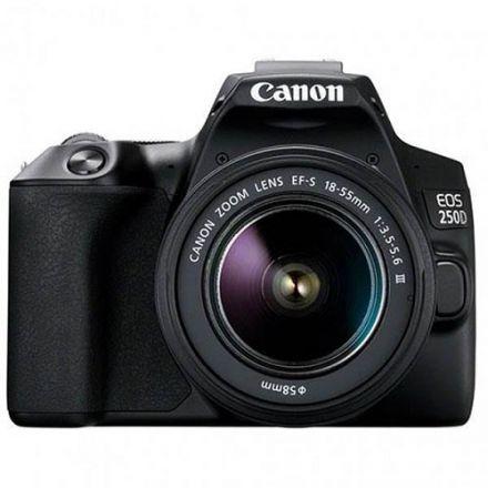 Canon EOS 250D Kit black + EF-S 18-55 DC III
