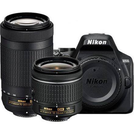 Nikon D3500 Διπλό Kit 18-55 VR & 70-300 VR Δώρο Θήκη Και Τρίποδο