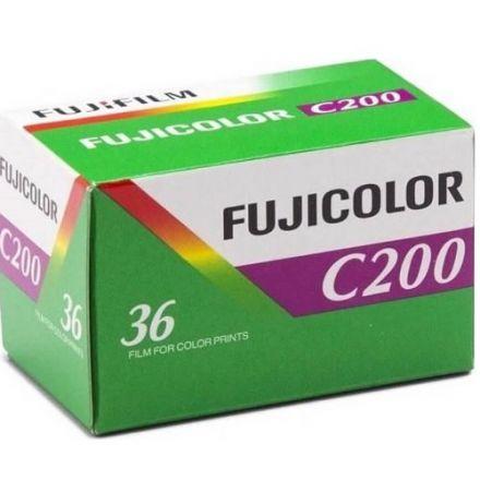 Fujifilm 35mm Fujicolor C200 Negative Film (36 Exposures)