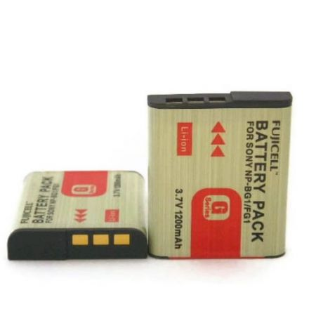Fujicell Replacement Battery for Sony NP-BG1/FG1