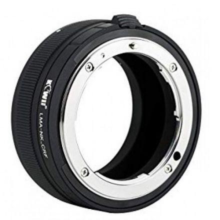 Kiwi Lens Adapter LMA-NK_CRF for Nikon F Lens to Canon RF